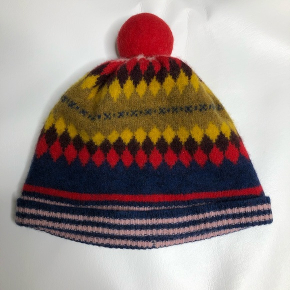 bbdc93780e5 Burberry Other - Burberry Children lambswool fair isle beanie